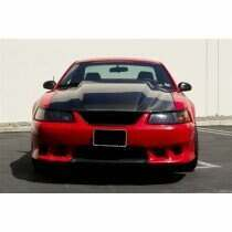 TruCarbon 1999-2004 Mustang Carbon Fiber A49-3 Hood (Fits GT and V6 bumper covers)
