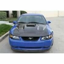 TruCarbon 2003-2004 Mustang Carbon Fiber Mach 1 A65 Hood