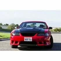 TruCarbon 1999-2004 Mustang Carbon Fiber A70 Hood (Fits GT and V6 bumper covers)
