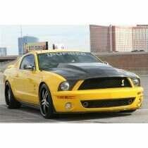 TruCarbon 2005-2009 Mustang GT500 Carbon Fiber A49-3KR Hood (fits GT500 front fascia)