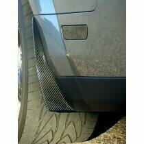 TruCarbon 2005-2009 Mustang Carbon Fiber LG52 Splash Guards (For CS and GT500)