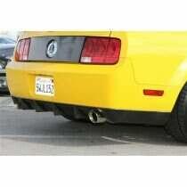 TruCarbon 2005-2009 Mustang GT500 Carbon Fiber LG62KR Rear Diffuser Cover