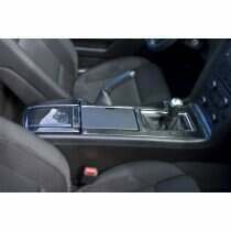 TruCarbon 2010-2014 Mustang Carbon Fiber LG122 Center Console (Manual)