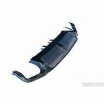 TruCarbon 2013-2014 Mustang Carbon Fiber LG149KR Rear Diffuser - Quad Tip