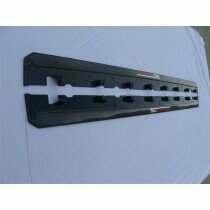 TruCarbon 2010-2014 Mustang Carbon Fiber LG37 Side Skirt Splitters