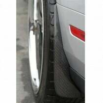 TruCarbon 2010-2014 Mustang Carbon Fiber LG48 Splash Guards