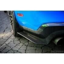 TruCarbon 2010-2014 Mustang Carbon Fiber LG56 Rear Diffuser Splitters