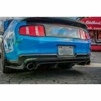TruCarbon 2010-2012 Mustang Carbon Fiber LG58 Rear Diffuser