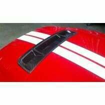 TruCarbon 2010-2014 Mustang GT500 Carbon Fiber LG77KR Hood Vent