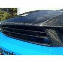 TruCarbon 2010-2012 Mustang GT Carbon Fiber LG88 Bumper Grille