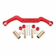 BMR Transmission Crossmember - Red (1979-1993 Mustang with TH350, PG, 700R4, C4, C6, AOD, 4L60) - TC730-R