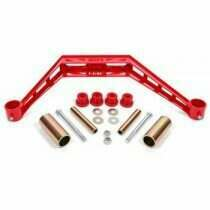 BMR Transmission Crossmember - TH400 / T-56 - Red (1997-1993 Mustang) - TC731
