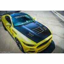 TruFiber TF10026-A81 2015-2017 Mustang Fiberglass A81 Hood (GT / Ecoboost / V6)