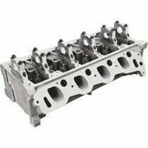 Trick Flow 4.6/5.4L Twisted Wedge® Track Heat® Cylinder Head with 44cc Combustion Chambers and 125 lb. Single Valve Springs, 185cc Intake Runners (Each)