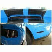 Anchor Room 2010-2012 Mustang Rear Vinyl Tint Kit