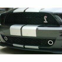 JLT JLTGBGT500-C 07-09 Shelby GT500 Lower Grille Bezels (Clear Anodized)