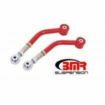 BMR UCA111R 2008-2018 Challenger Upper Control Arms, On-car Adjustable, Rod Ends (Red)