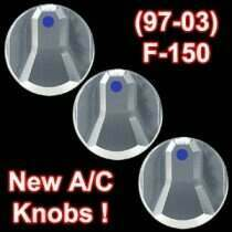 UPR 97-04 Lightning/Harley Designer Style A/C Knob kit