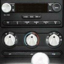 UPR 05-09 Mustang GT / V6 / 07-09 GT500 Designer A/C Knob Kit