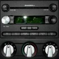 UPR 05-09 Mustang GT / V6 / 07-09 GT500 Slimline A/C Knob Kit
