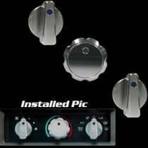99-04 Mustang Billet Style AC Knob Set w/ Climate Control