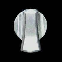UPR 05-10 Mustang Billet Headlight Knob Cover (Polished)