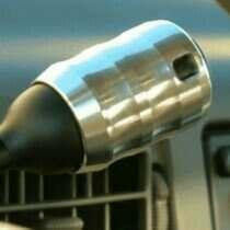 UPR 94-04 F150 Billet AOD Knob-Polished