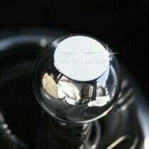 UPR 79-04 Mustang Billet Knob Small Flat Top 5.0L Logo (Pol)
