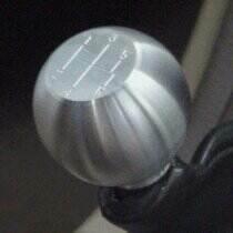 2005-2009 Mustang Round Billet Shift Knob 5spd Logo