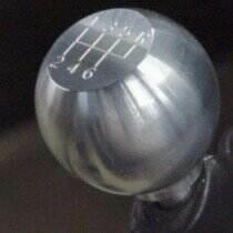 05-09 Billet Round Flat Shift Knob w/6-speed logo - Stock Thread