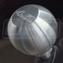 UPR 79-04 Mustang Billet Shift Knob Large Flat Top (4.6 Logo)
