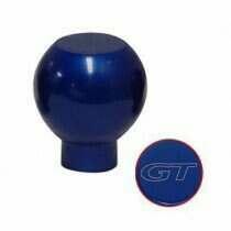 UPR 79-04 Mustang Billet Shift Knob GT Logo (Blue)