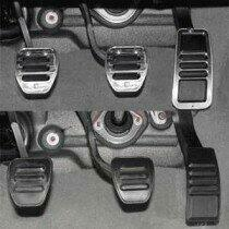 UPR 2005-2019 Mustang Manual Billet Pedal Protectors