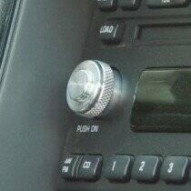 2001-2004 Double Style Billet Aluminum Radio Button