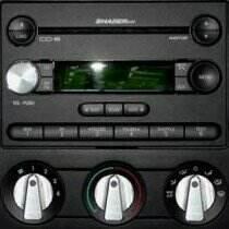 UPR Mustang GT / V6 / 07-09 GT500 Round Radio Knob