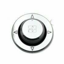 UPR 2010-2014 Mustang Billet Engraved Mirror Control Knob and Bezel Kit (Polished)
