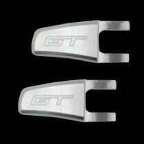 UPR 05-06 Mustang Billet Seat Release Lever GT Logo