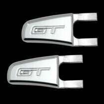 UPR 05-06 Mustang Billet Seat Release Lever GT Logo (Polished)