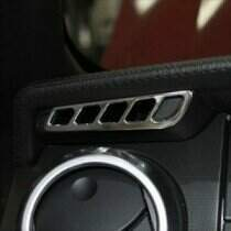 UPR 05-09 Mustang Billet Side Vent Covers (Polished)