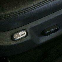 UPR 05-10 Mustang Billet Power Lumbar Seat Switch (Polished)