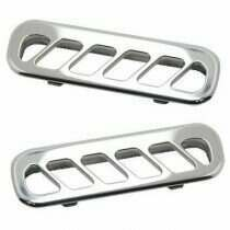 UPR 2010-2014 Mustang Billet Replacement Door Vents (Polished)