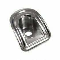 UPR Mustang Billet Designer Door Pin Bezels (Polished)