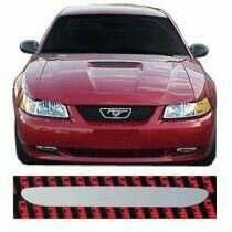 99-00 Mustang Polished Stainless Steel Hood Scoop Insert