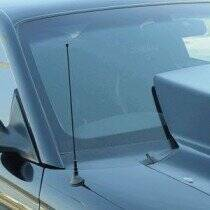 UPR Billet Shorty Antenna (Silver)