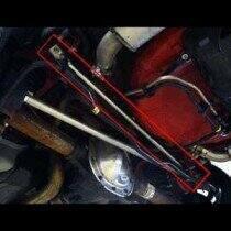 UPR Mustang GT Chromoly Panhard Bar Brace