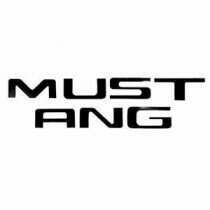 1996-1998 Mustang Vinyl Bumper Insert Letters
