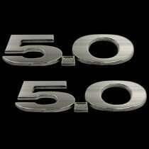 UPR Mustang 5.0 Billet Emblems (Pair)