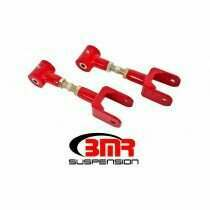 BMR 79-04 Mustang On-car Adjustable Upper Control Arms - Red (Polyurethane Bushings)
