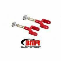 BMR 79-04 Mustang On-car Adjustable Upper Control Arms - Red (Rod Ends)