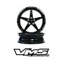 "VMS Racing VWST014 18 x 5"" Front Street Drag Race Wheel (2005-2020 Mustang)"
